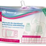 Woreczki do sterylizacji w kuchence mikrofalowej