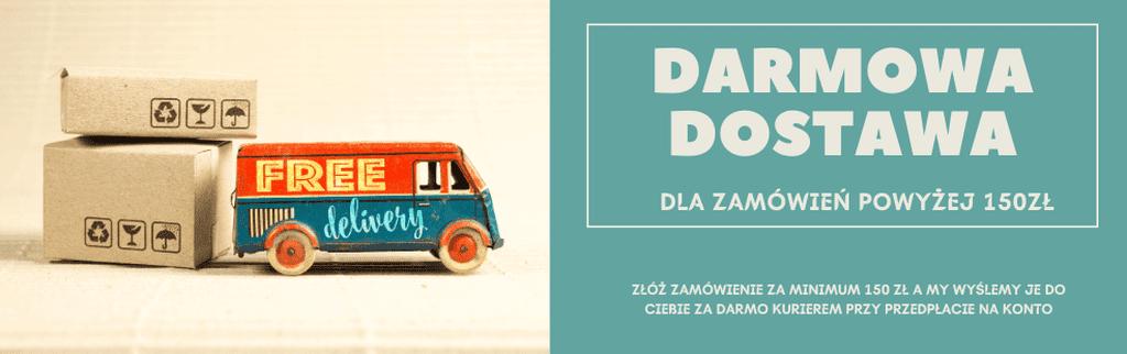 Slider Darmowa dostawa Strona internetowa